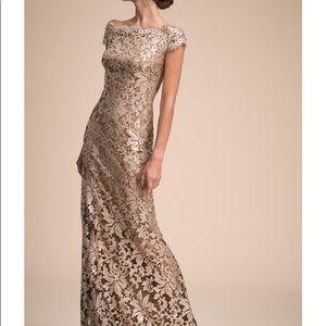 Tadashi Shoji Gorgeous champagne dress